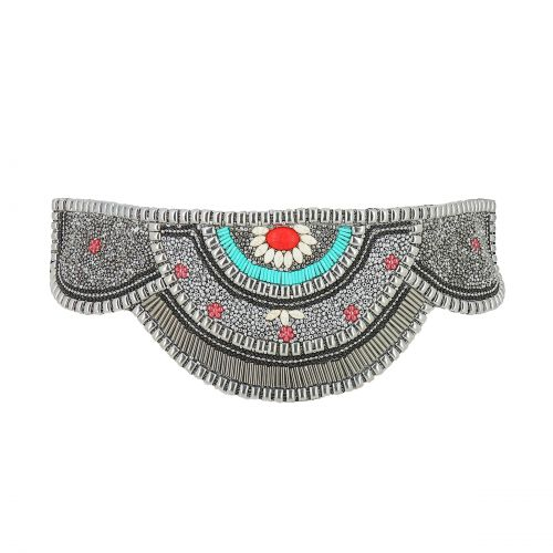 Women'S Fashion Lady Handmade Mosaic Wide Belt, CLARISSE