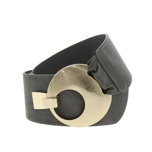 VANESSA leatherette large belt