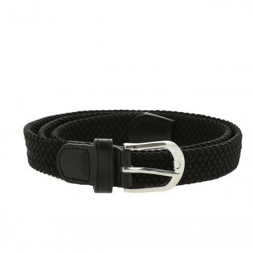 woman braided stretch belt, ERELL