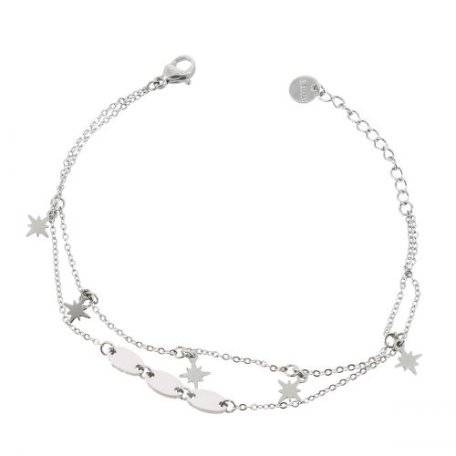 Woman stainless steel bracelet, EMA