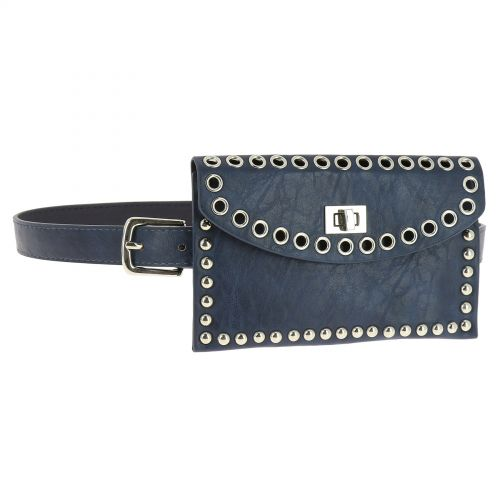 Belt With bag Strass for woman, CHARLINE
