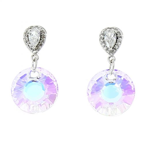 Rhinestone Earrings zirconium LIZZY