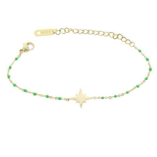 Woman stainless steel bracelet, HACI