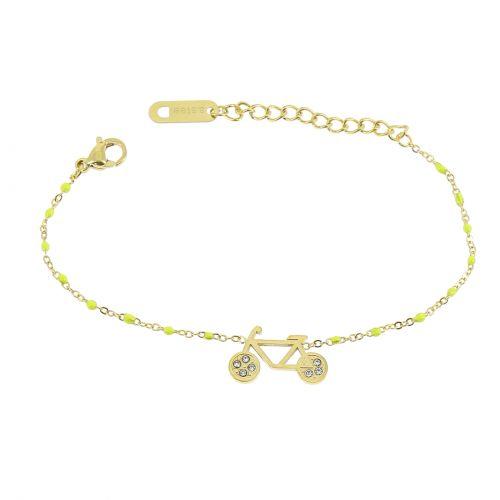 Woman stainless steel bracelet, ASHLEY