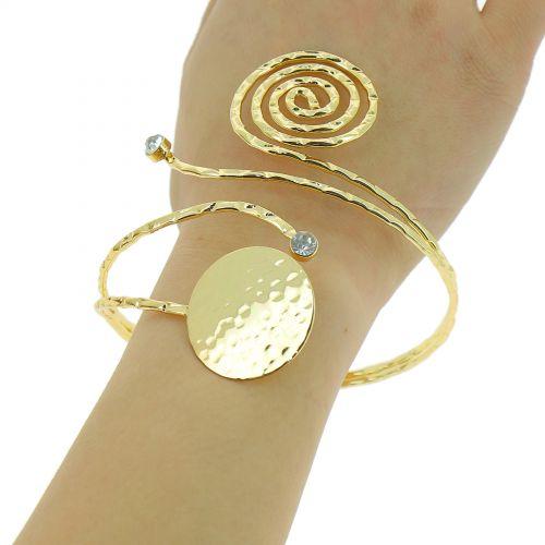 Bracelet cuff metal IRINA