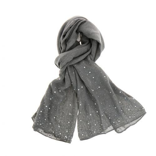 Sensation coton, Beads, woman scarf, ALOISE