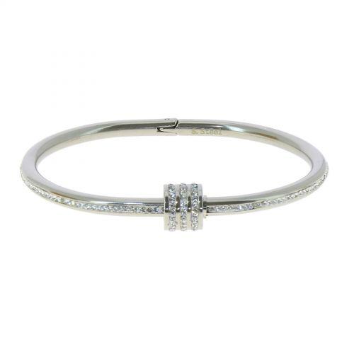 Bracelet Acier inoxydable femme à cristal de Zirconium, MARY