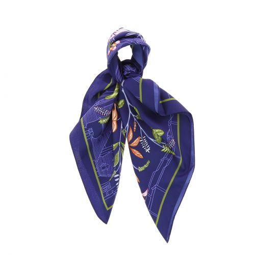 Foulard pour Femme 70 x 70 cm en Polyester sensation Soie, BASMA
