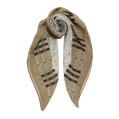 Foulard pour Femme 70 x 70 cm en Polyester sensation Soie, SINDA