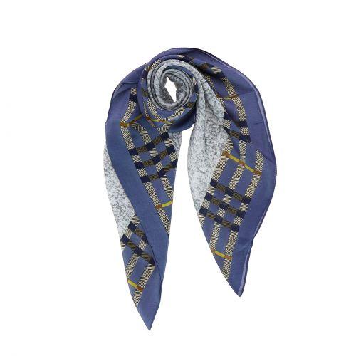 Foulard pour Femme 70 x 70 cm en Polyester haute qualité, sensation Soie, SINDA