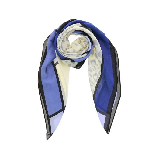 Foulard pour Femme 70 x 70 cm en Polyester sensation Soie, MILY