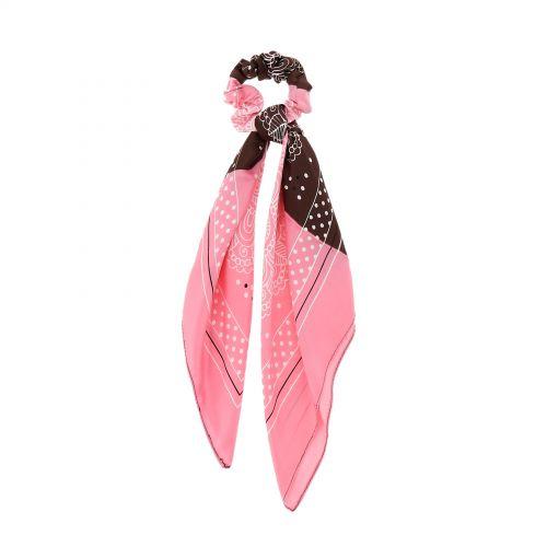 Foulard pour Femme Soie anneau de cheveux de servitte mince, CELENE