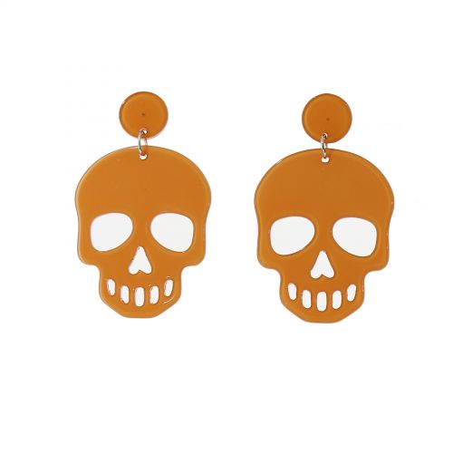 Skull earrings, HONORINE