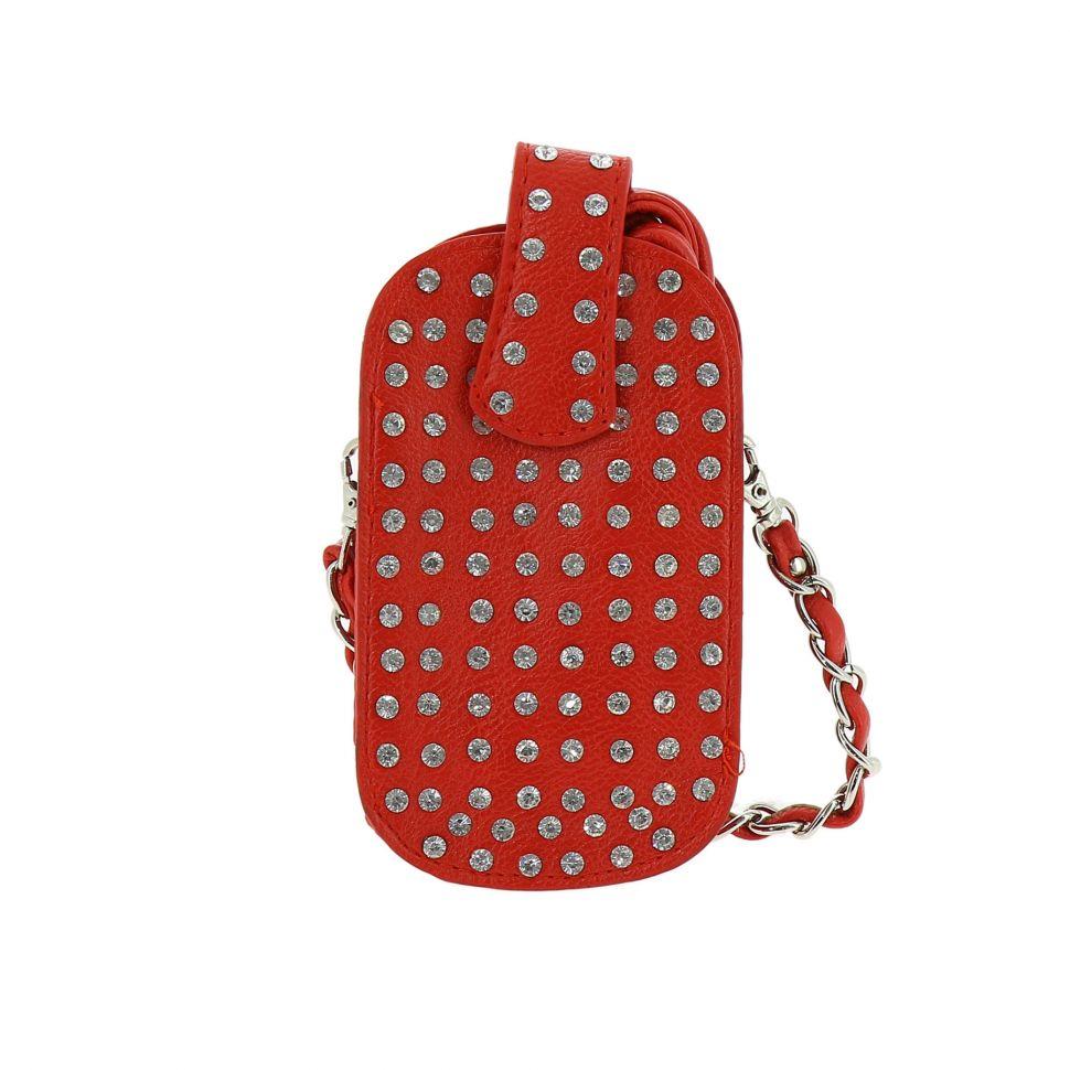 3 in 1 bags for smartphone, rivets, rhinestones