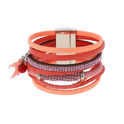 Bracelet cuff rhinestone ESSRA