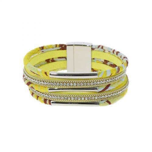 Bracelet manchette Strass GINA