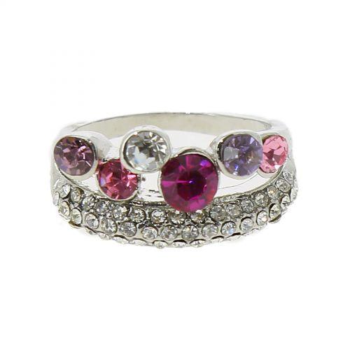 Ring Pink Gold Fantasy 6177