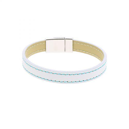 Bracelet manchette cuir LIVIA