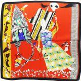 Foulard pour Femme 70 x 70 cm en Polyester haute qualité, sensation Soie, NAIRA