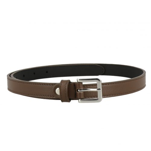 2 cm Belt Genuine Italian leather for women, LINDA