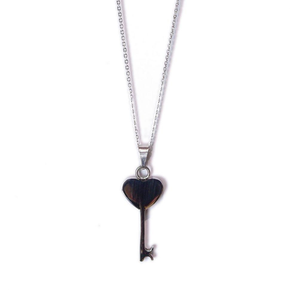 collier clef, S052-8 Argenté - 2005-5954