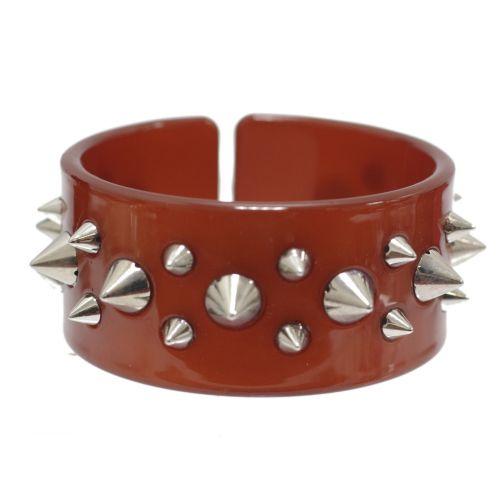 bracelet BOS-3, acrylique clouté de pique