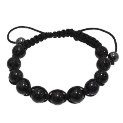 Stone shamballa bracelet, KAHINA