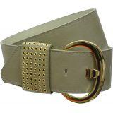 Wide Leatherette belt, PIRITTA