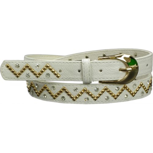 strass and studded belt, Berenike