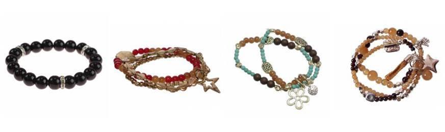 Ethnic bead bracelets