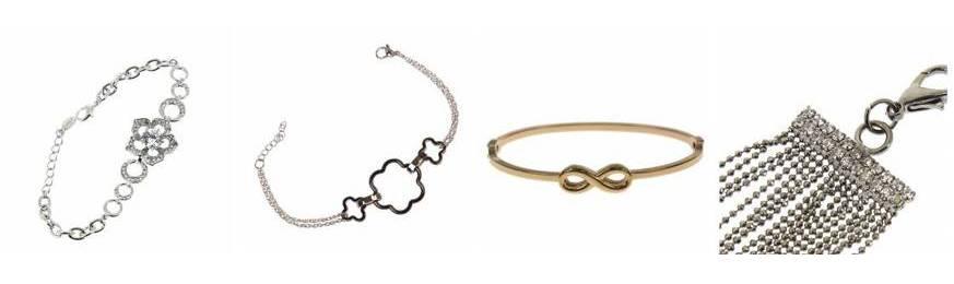 Bracelets finebracciali d'oro con oro