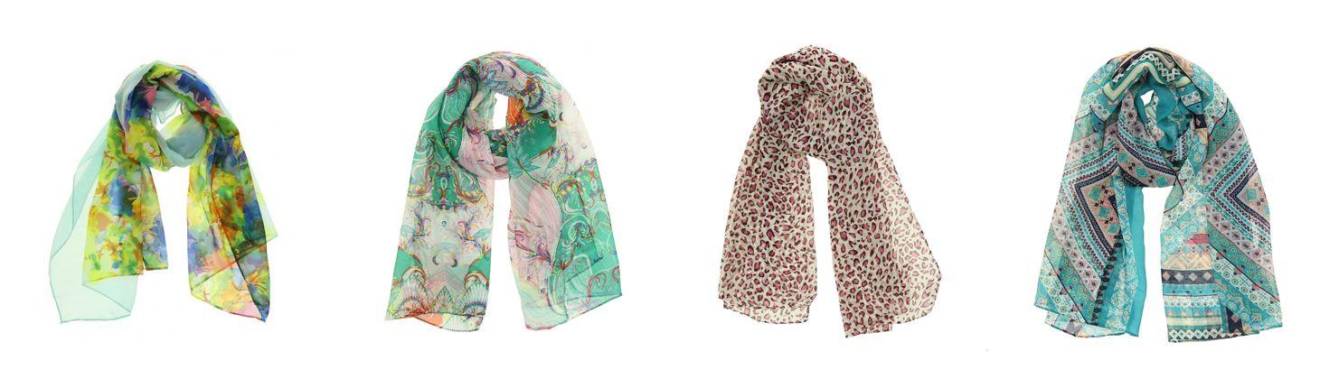 Pañuelos de seda de imitación